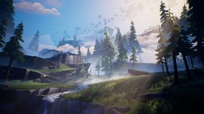Dauntless Landscape Wallpaper 67597