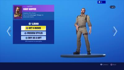Fortnite Chief Hopper Wallpaper 69496