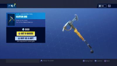 Fortnite Clutch Axe Wallpaper 67628