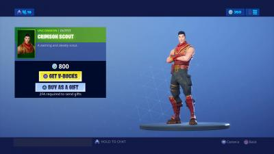 Fortnite Crimson Scout Wallpaper 67869