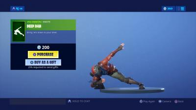 Fortnite Deep Dab Wallpaper 67944