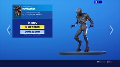 Fortnite Demogorgon Wallpaper 69497