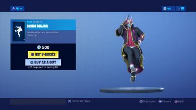 Fortnite Drum Major Wallpaper 67975
