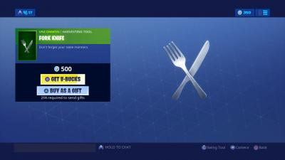 Fortnite Fork Knife Wallpaper 67860