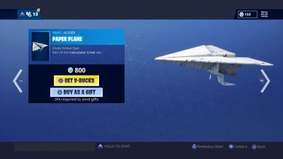 Fortnite Paper Plane Wallpaper 67535