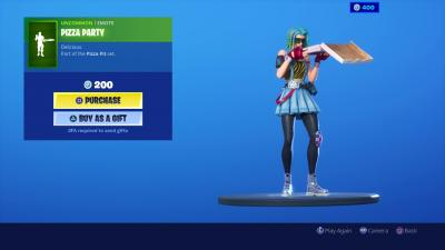 Fortnite Pizza Party Wallpaper 69526