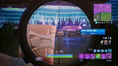 Fortnite Proximity Grenade Launcher Scope Wallpaper 67848