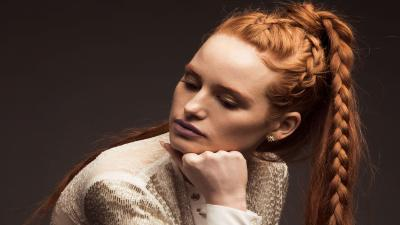 Madelaine Petsch Braided Hair HD Wallpaper 66945