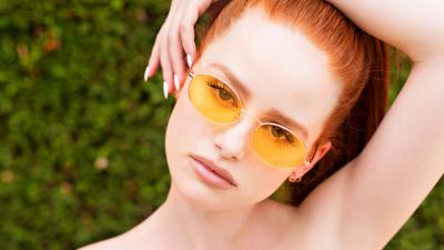 Madelaine Petsch Glasses Wallpaper 66941