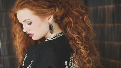 Madelaine Petsch Red Hair Background Wallpaper 66943