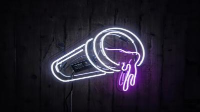 Neon Cup Sign Wallpaper 66617
