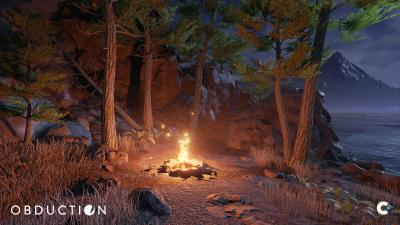 Obduction Game Fire Wallpaper 68034
