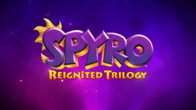 Spyro Reignited Trilogy Logo Wallpaper 68724