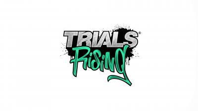 Trials Rising Logo Background Wallpaper 67170