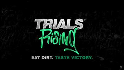 Trials Rising Logo Wallpaper 67175