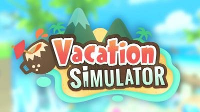 Vacation Simulator Logo Wallpaper 67987