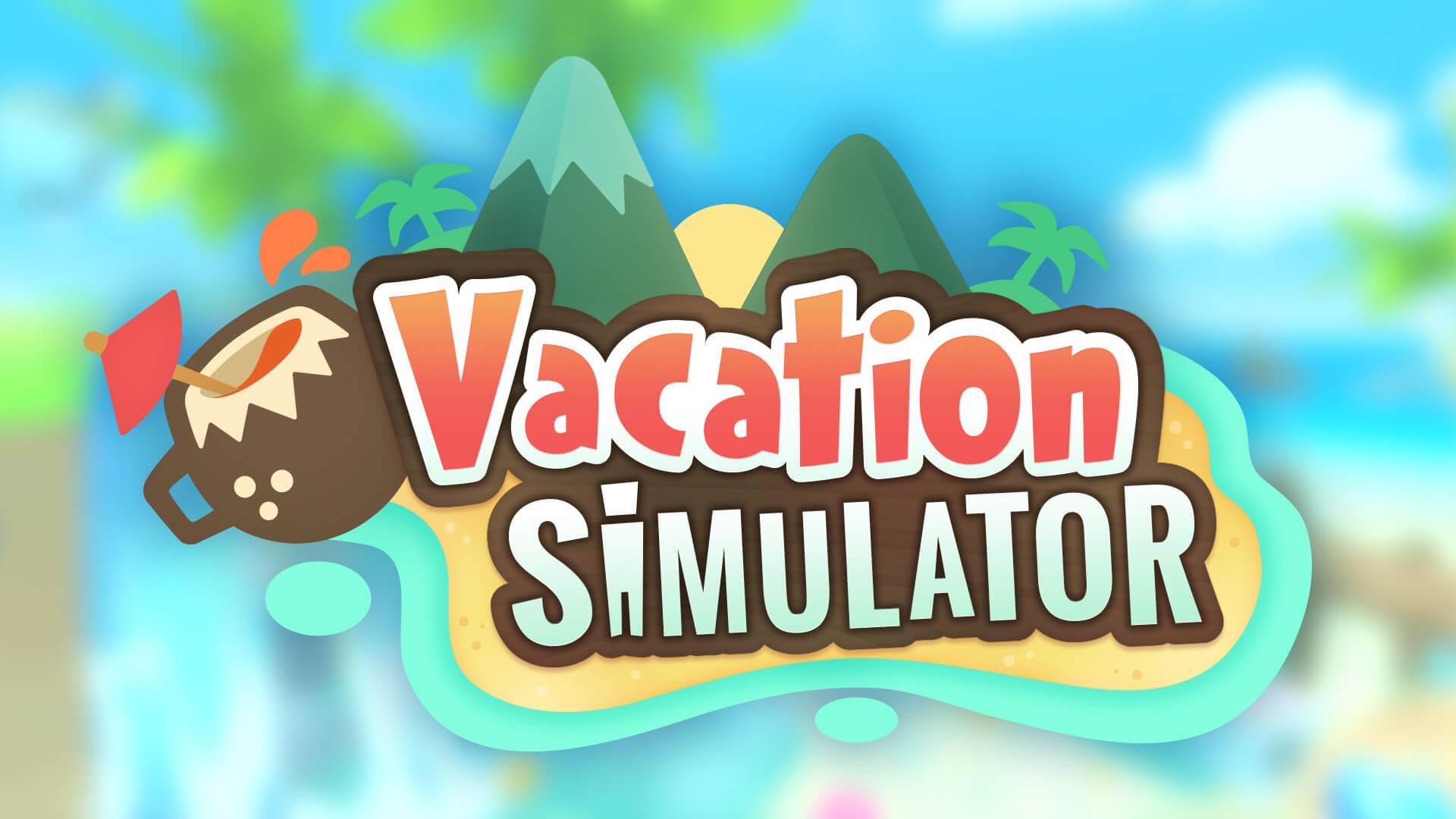 vacation simulator logo wallpaper 67987