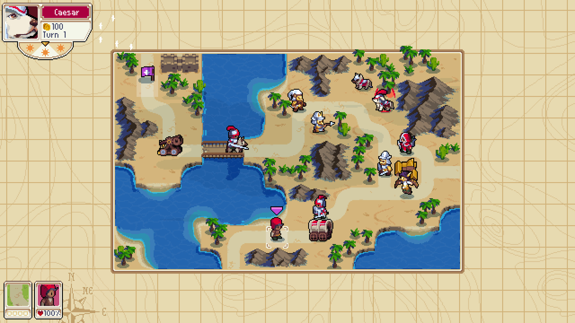 wargroove desert map wallpaper 67089