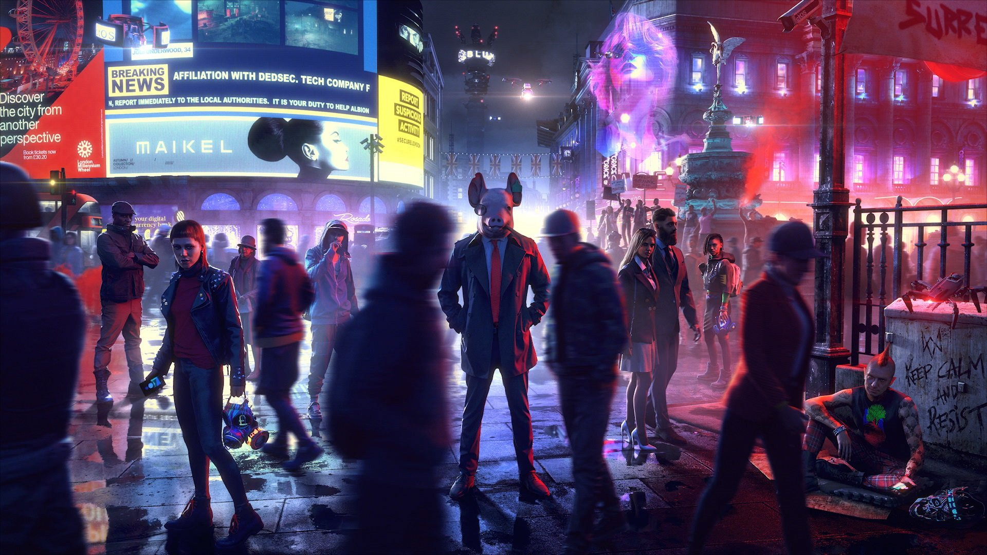 watch dogs legion hd wallpaper 69287
