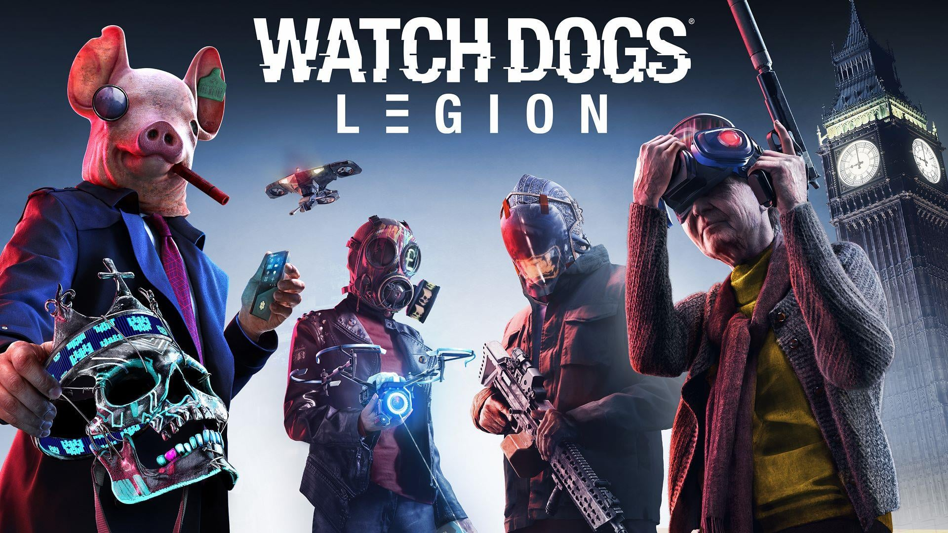 watch dogs legion wallpaper 69284