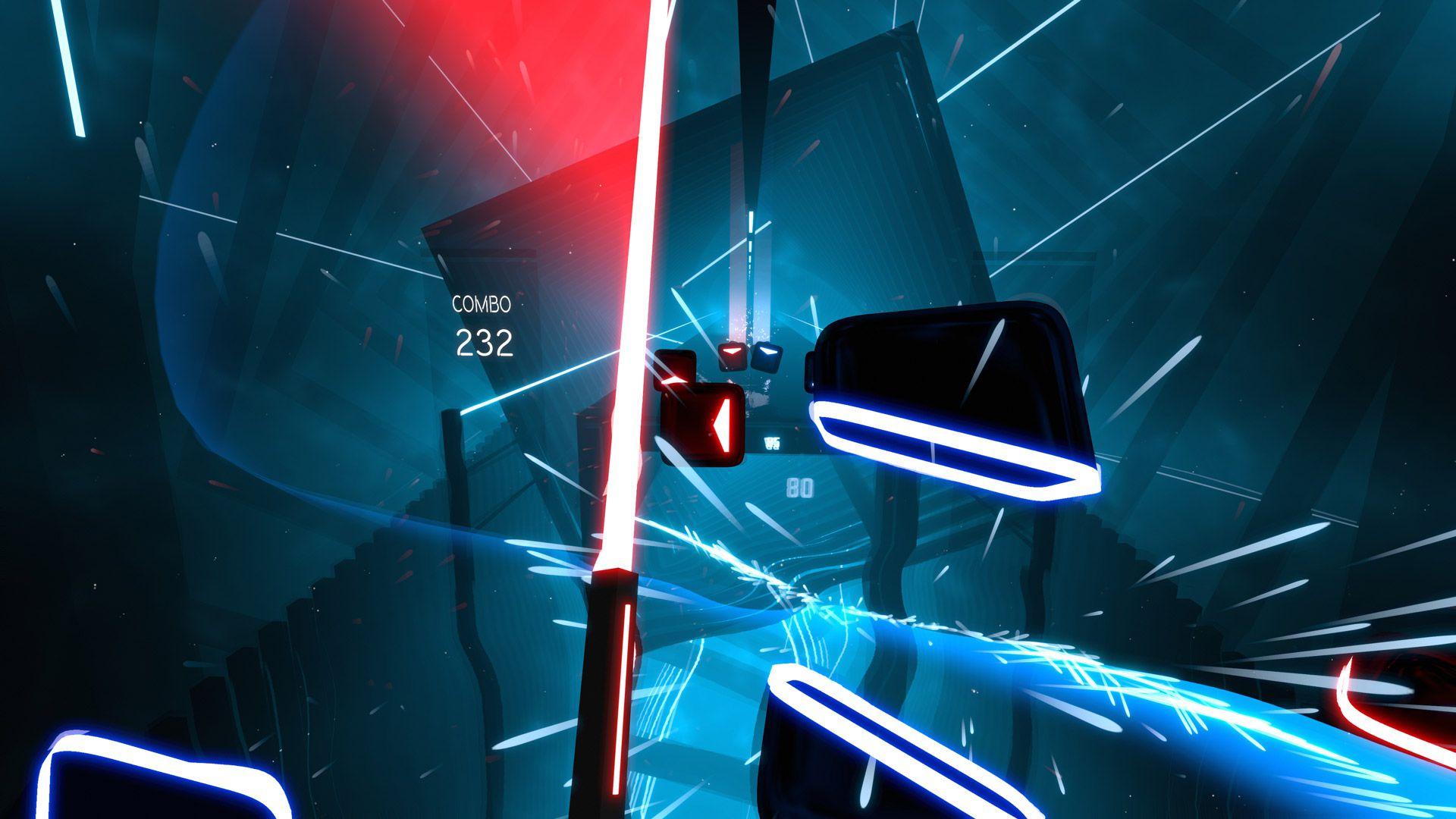 beat saber screenshot wallpaper 67667