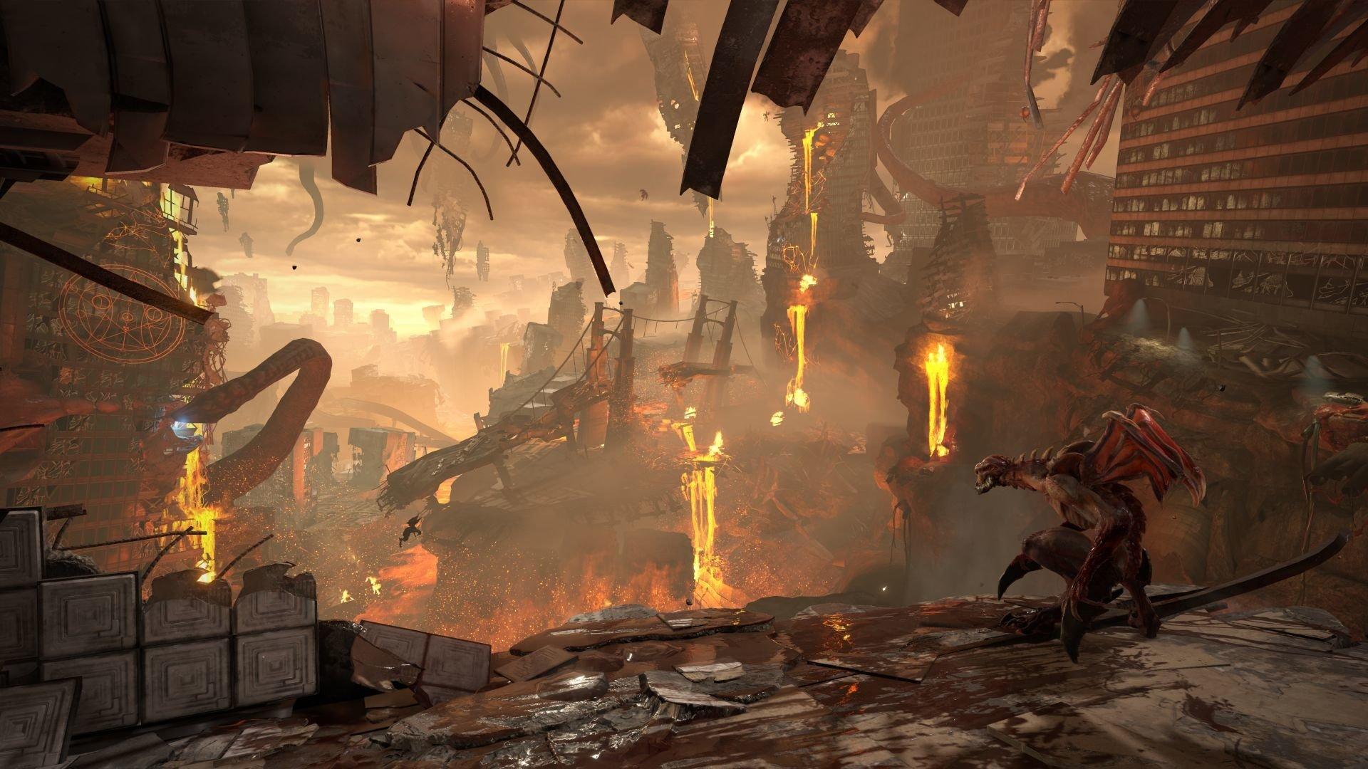 doom eternal video game wallpaper 67565