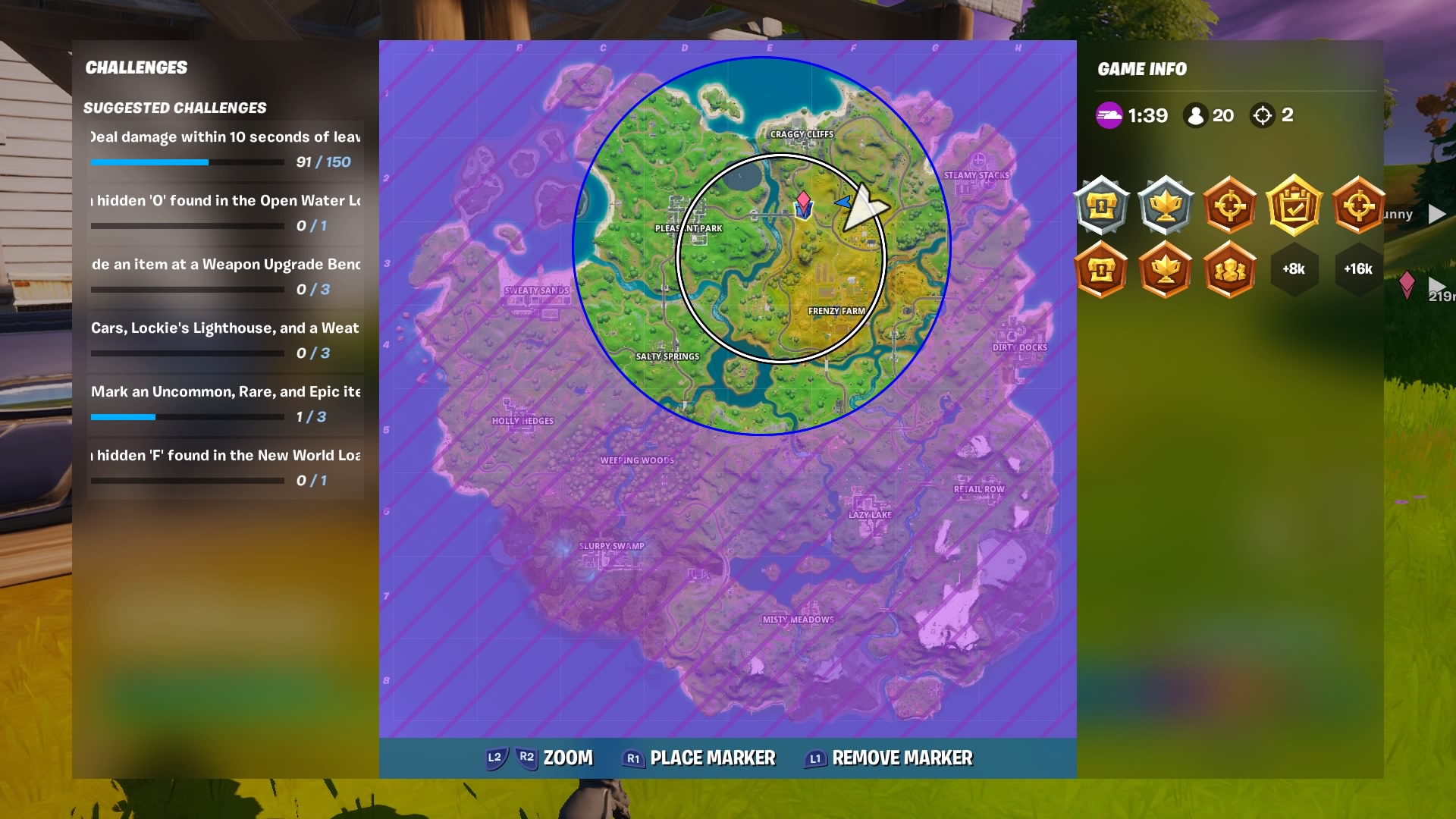 fortnite circle wallpaper 69339