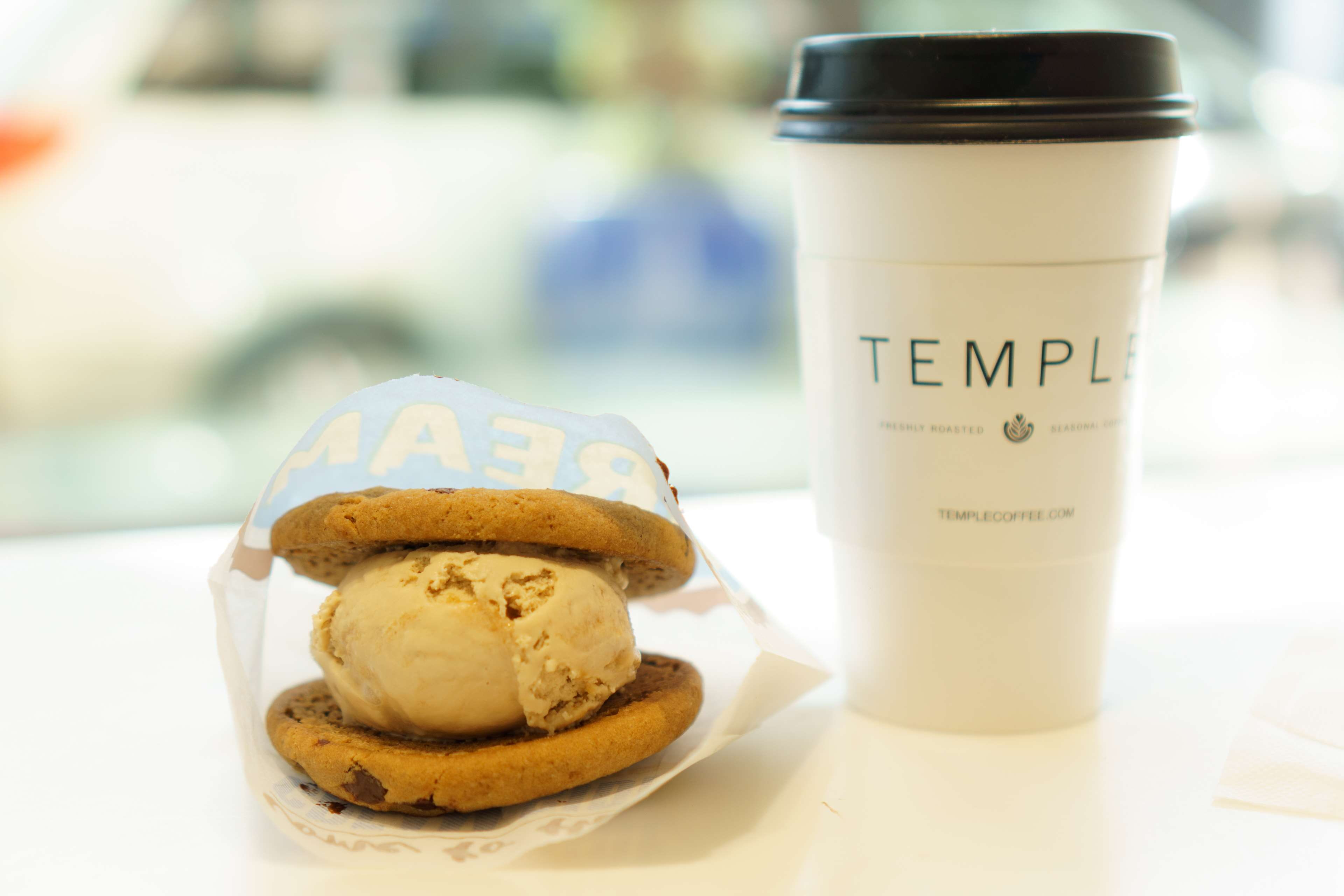 ice cream sandwiches and coffee wallpaper 67340