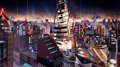 Crackdown 3 Map Wallpaper 67127