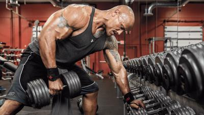 Dwayne Johnson Gym HD Wallpaper 67004