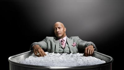 Dwayne Johnson Ice Bath Wallpaper 67005