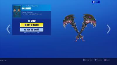 Fortnite Gnashers Wallpaper 69325