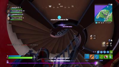 Fortnite Spiral Stairs Wallpaper 69321