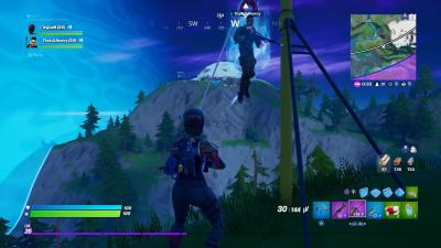 Fortnite Zip line Wallpaper 69346