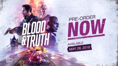 Game Blood and Truth HD Wallpaper 67679