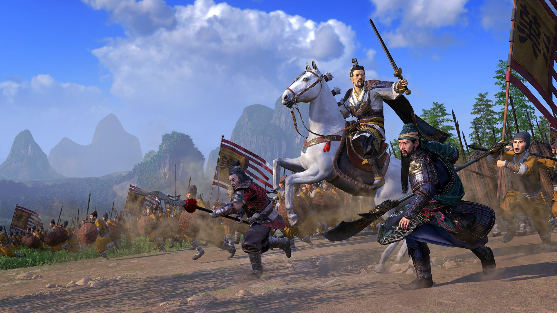 Total War Three Kingdoms Wallpaper 67498 1920x1080px