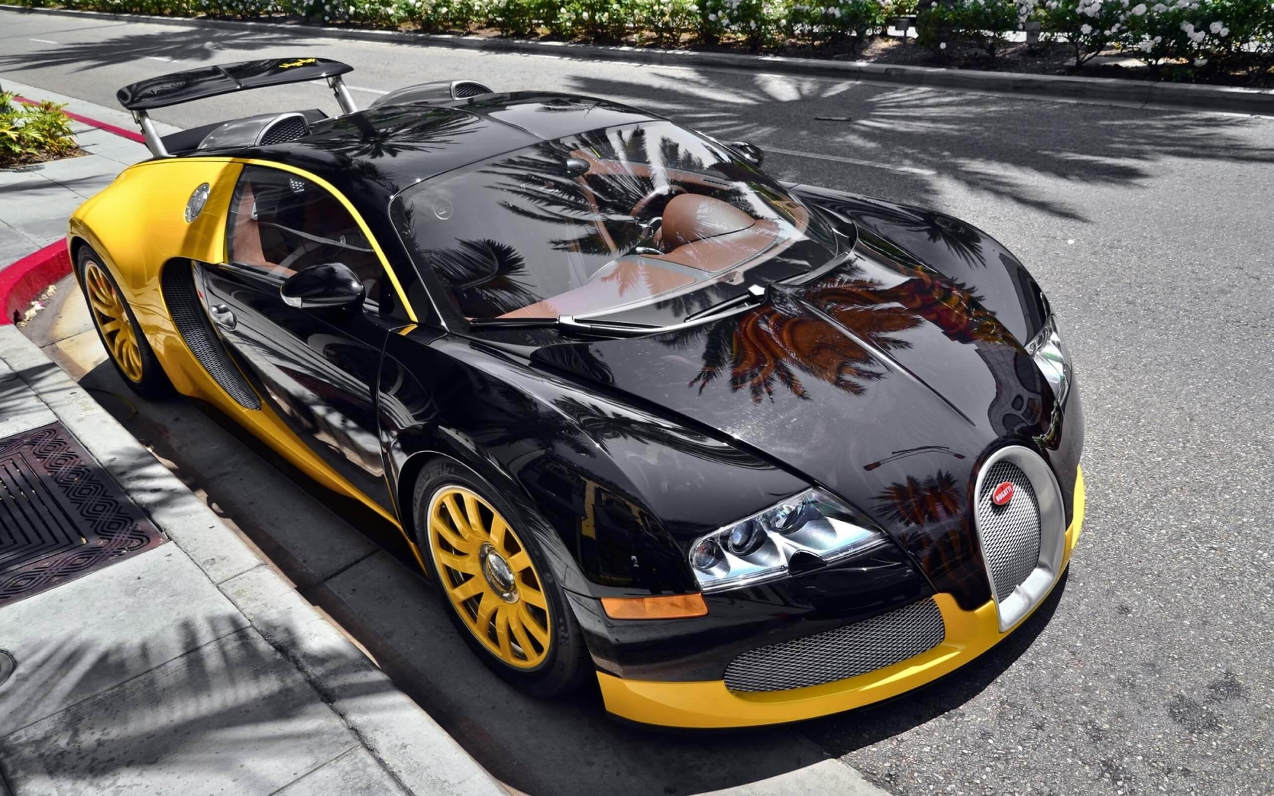 black and yellow bugatti pictures wallpaper 67217