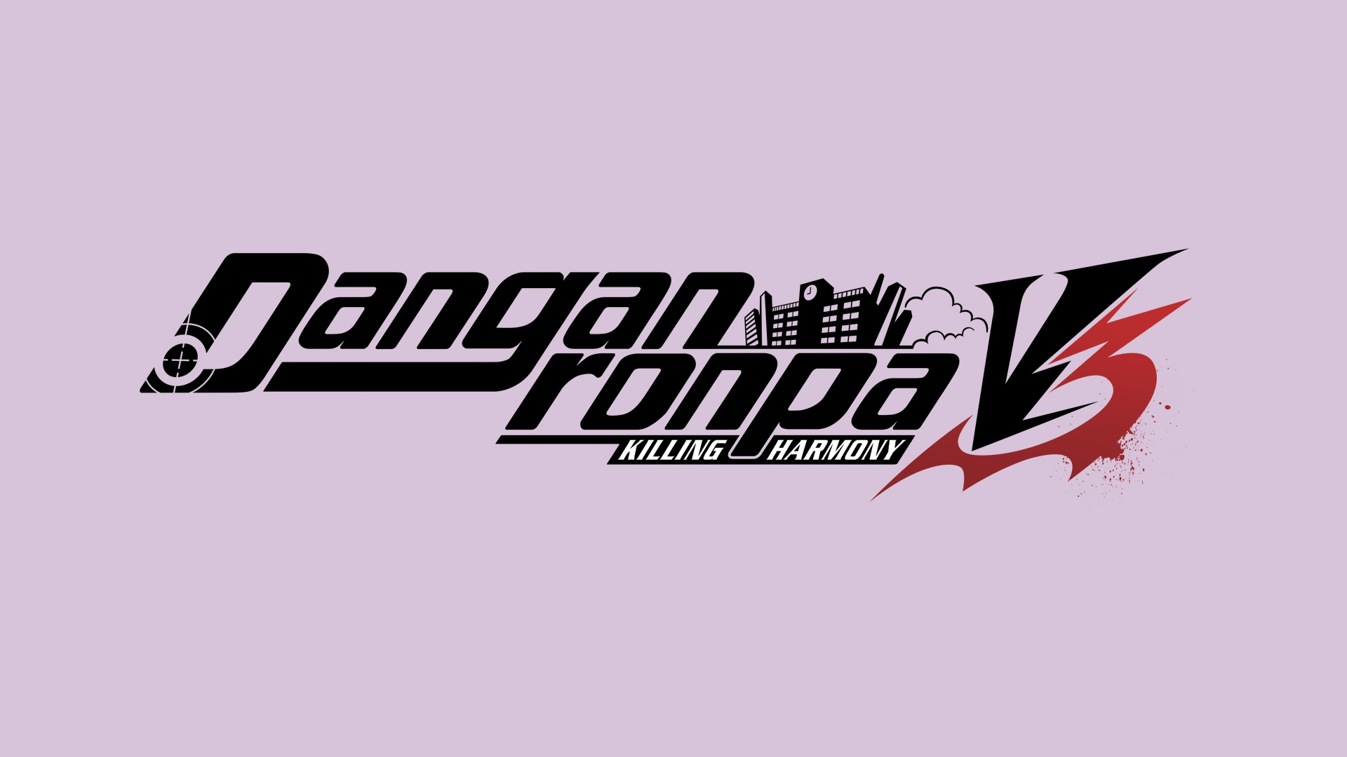 danganronpa v3 logo wallpaper 67399