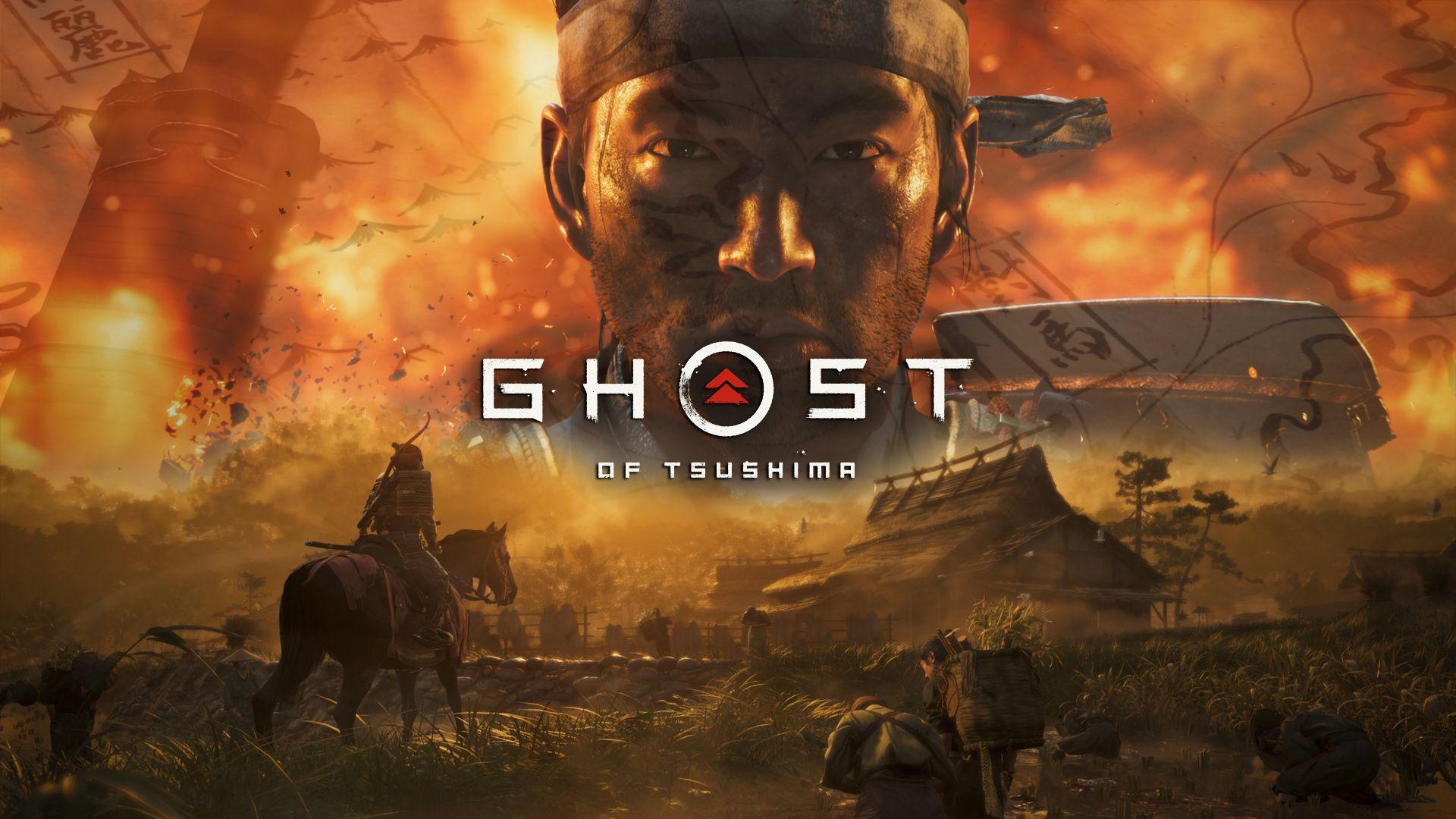 ghost of tsushima video game wallpaper 69714