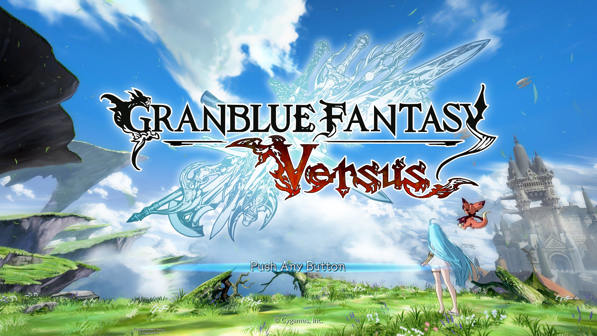 granblue fantasy versus video game wallpaper 69704