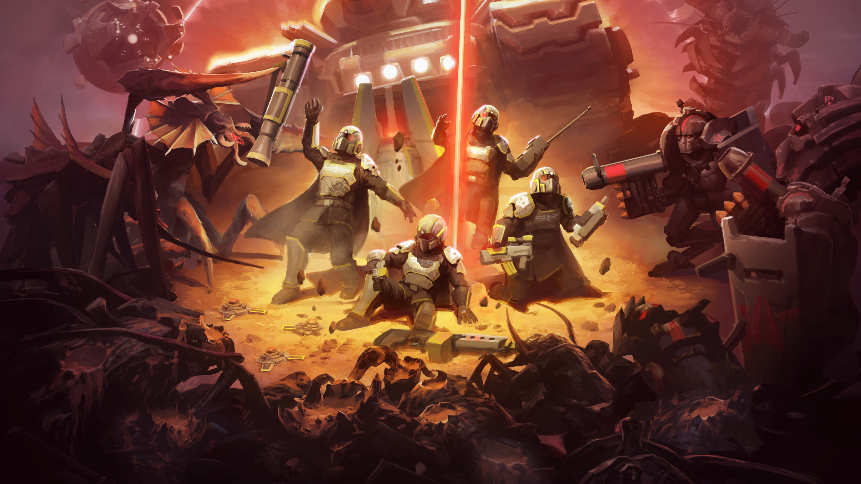 helldivers background wallpaper 68868
