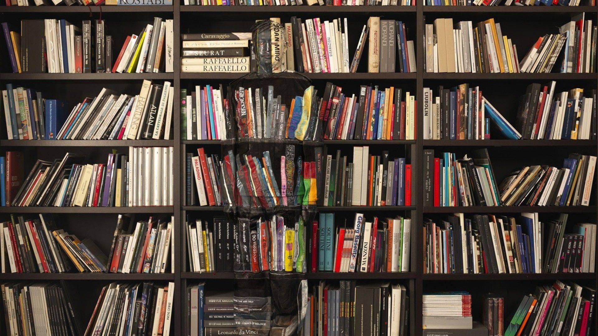 library books wallpaper 67426