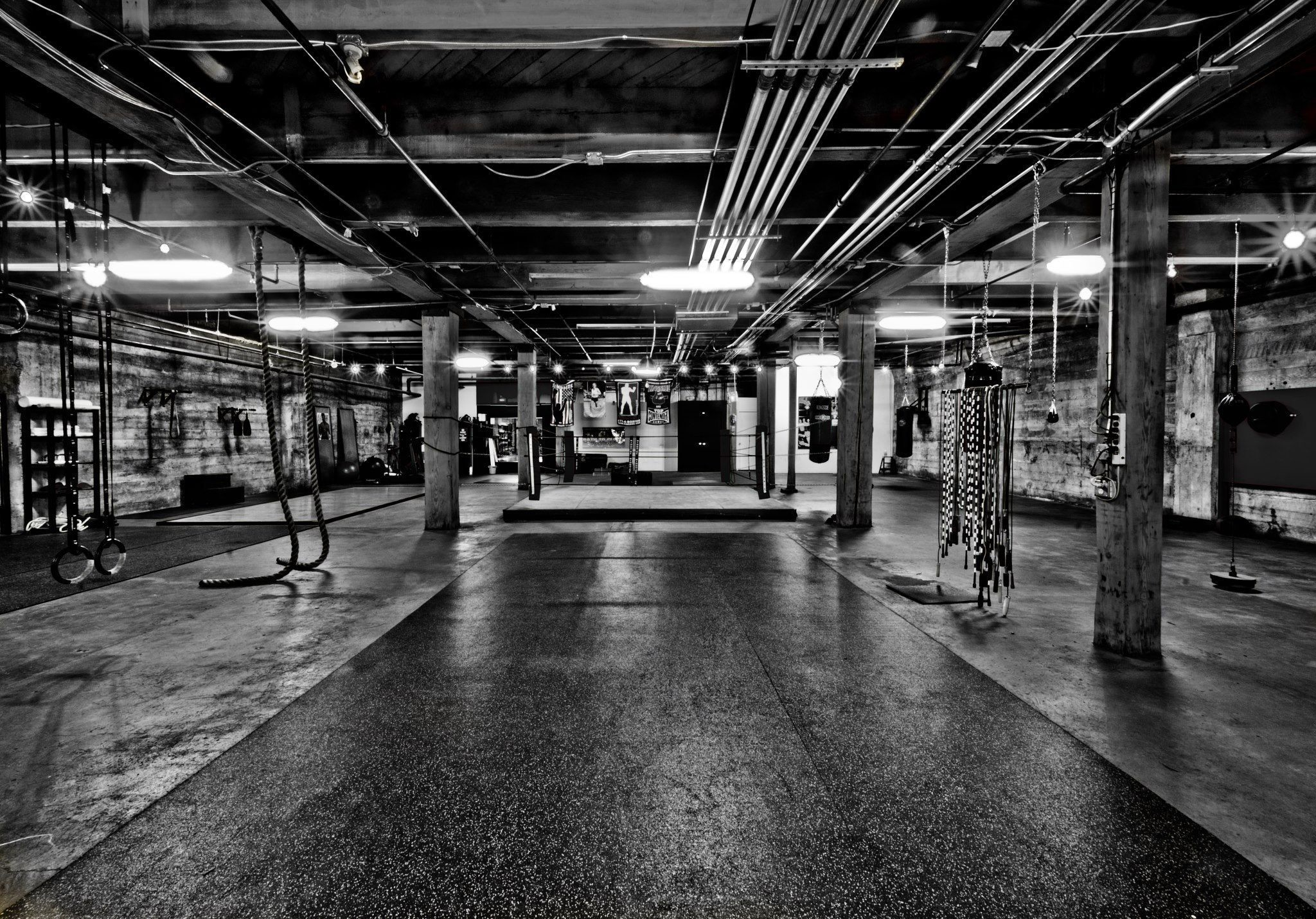 monochrome gym wallpaper 66601