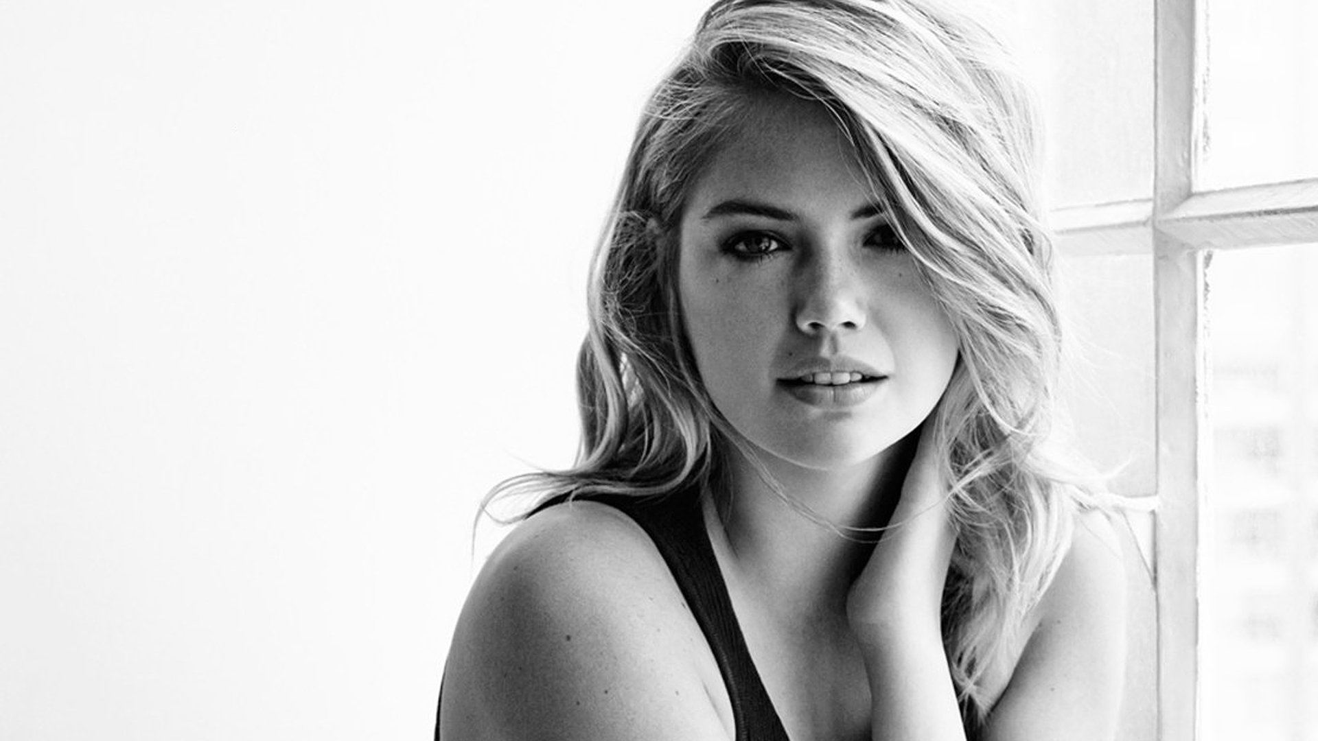 monochrome kate upton wallpaper 68430