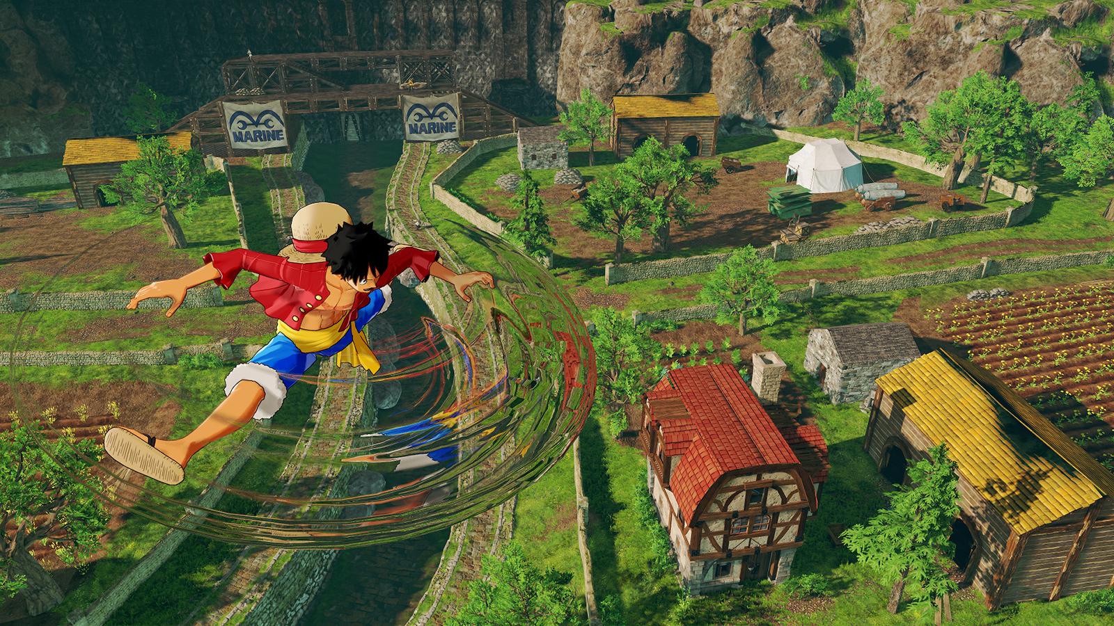 one piece world seeker game computer wallpaper 67276
