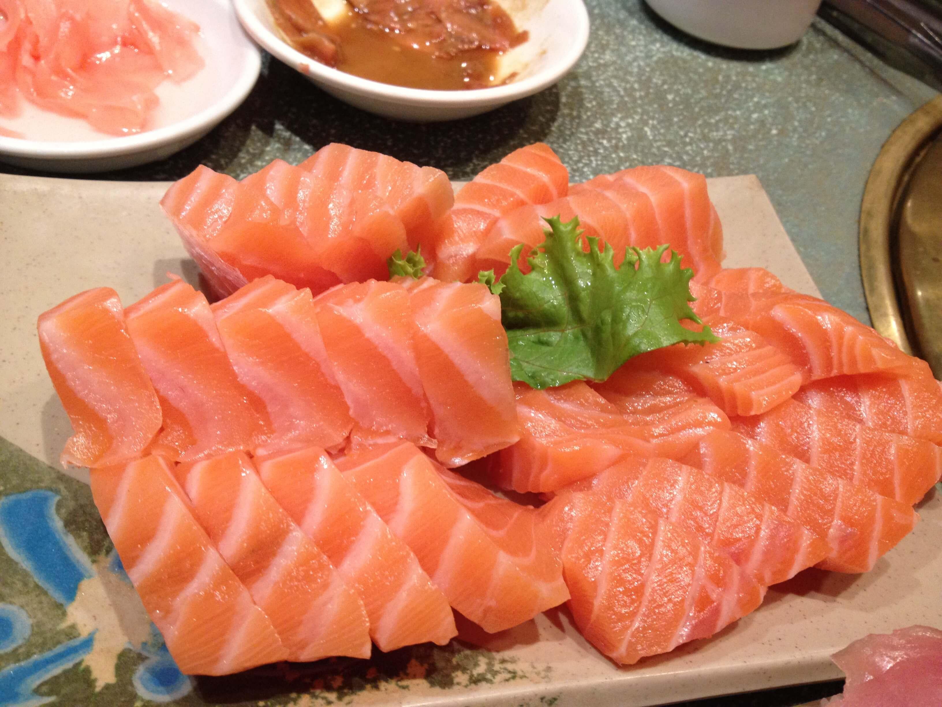 salmon food widescreen hd wallpaper 66883