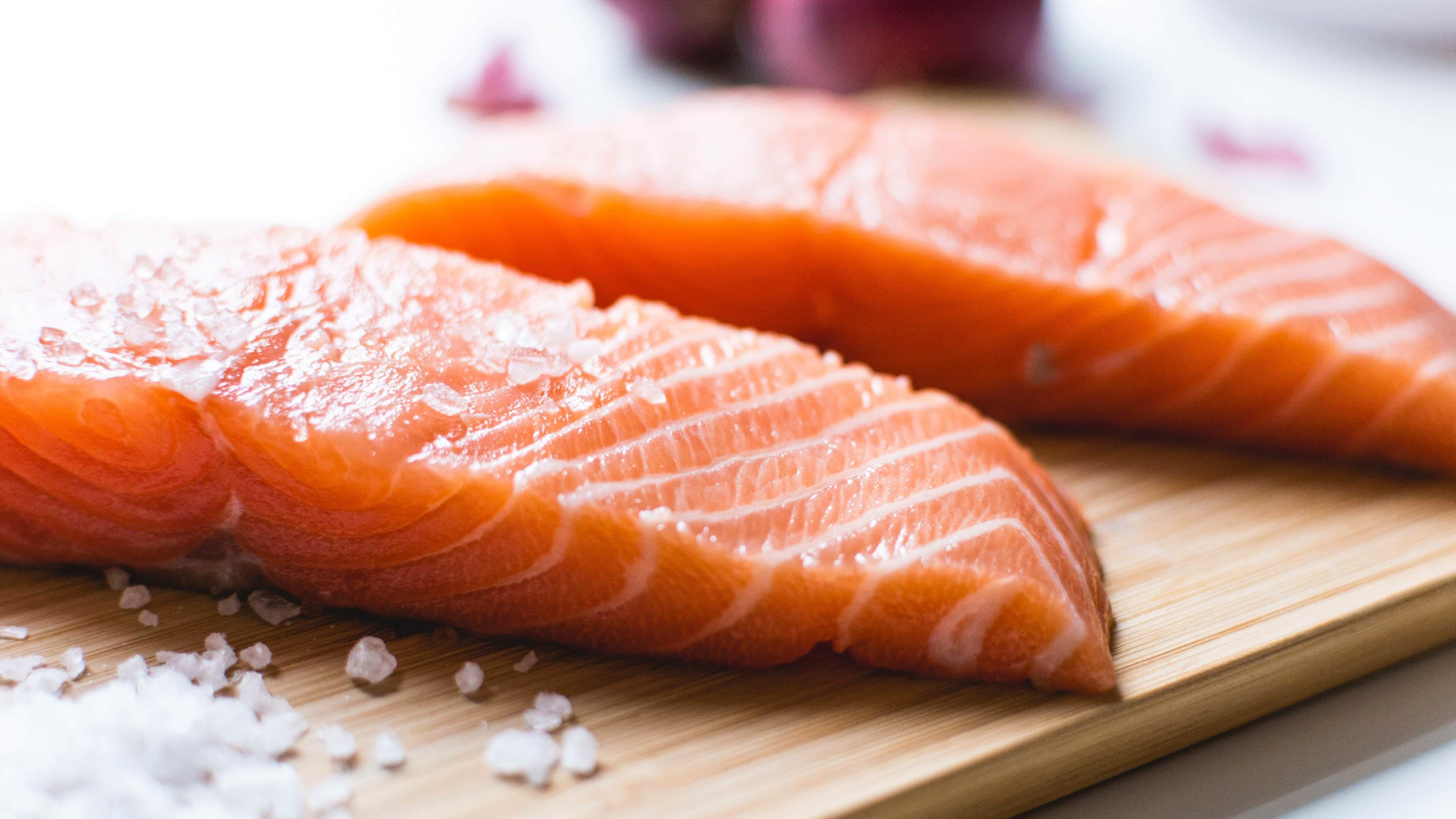 salmon fresh widescreen wallpaper 66886