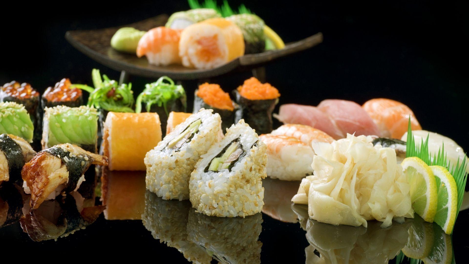 sushi food hd wallpaper 66890