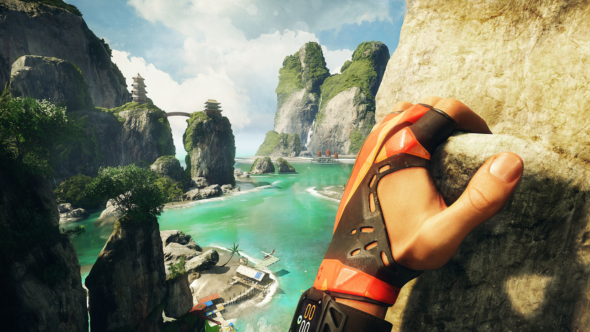 the climb video game wallpaper 67766