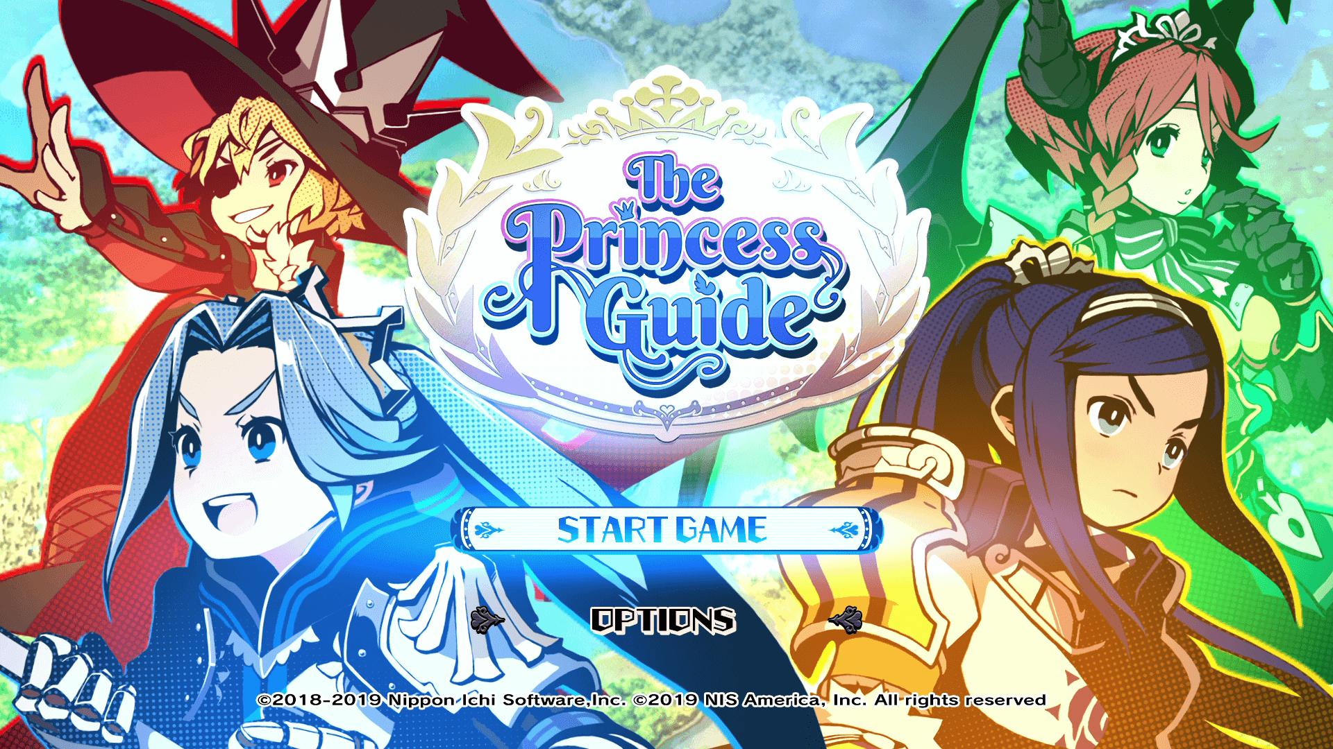 the princess guide main menu wallpaper 67382